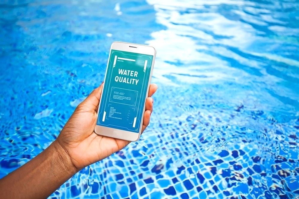piscine contrôlée à distance