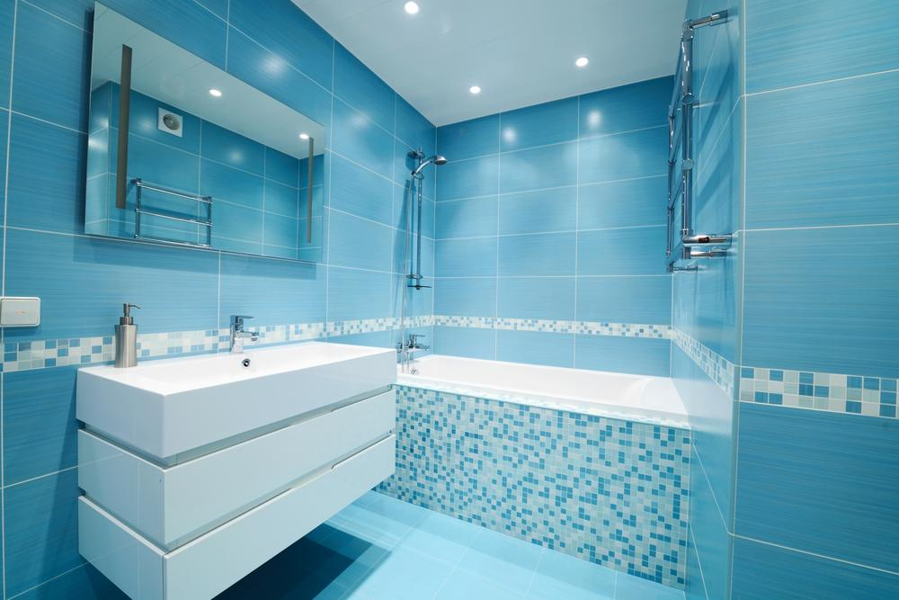 style bord de mer à une salle de bains