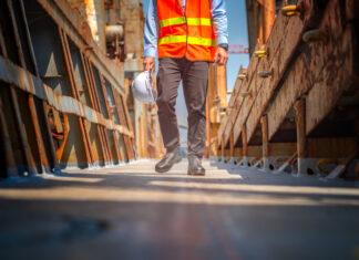 chaussure de sécurité pour la construction